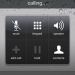 Voipswitch Unified Communication Iphone Calling screen black